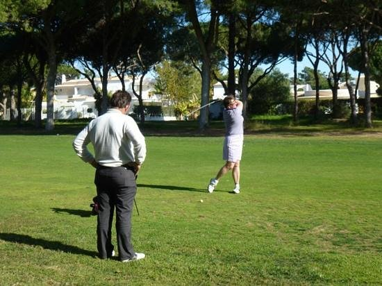 Lesters Golf: Pinahl with Petere Lester Januar 2012