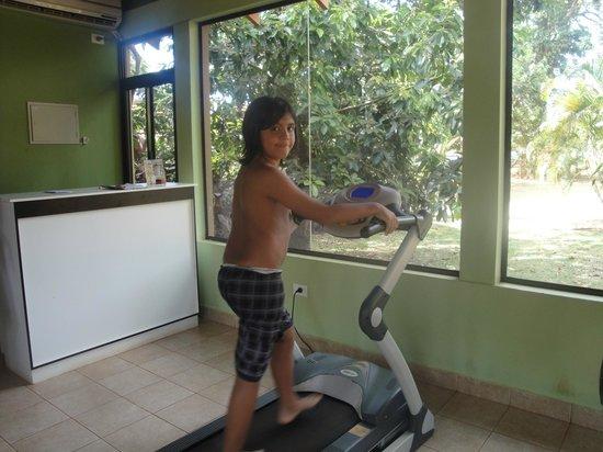 Orquideas Hotel & Cabanas: en el gym