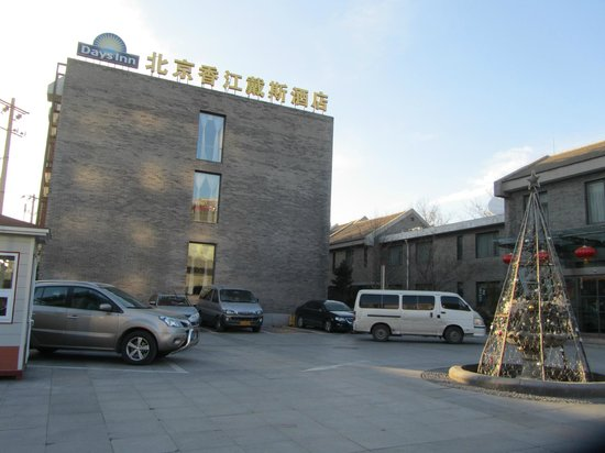 Days Inn Forbidden City Beijing: Hotel por fuera