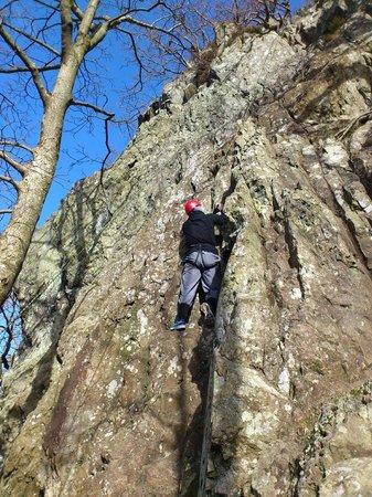 Denton House: Rock climbing
