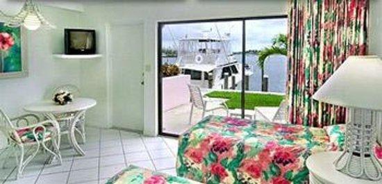 Treasure Cay Beach, Marina & Golf Resort: Our rooms view of the Marina