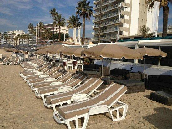 Le Lido Plage : la plage