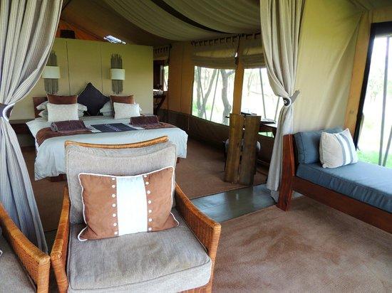 Naboisho Camp, Asilia Africa: Our Room