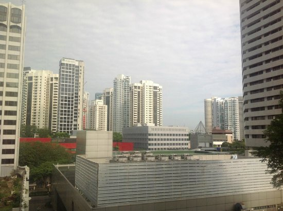 Grand Hyatt Singapore: View from our room.