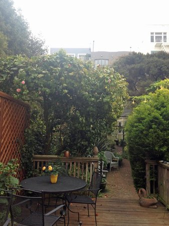 Union Street Inn: The Garden
