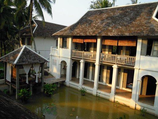 Satri House: vue de chambre