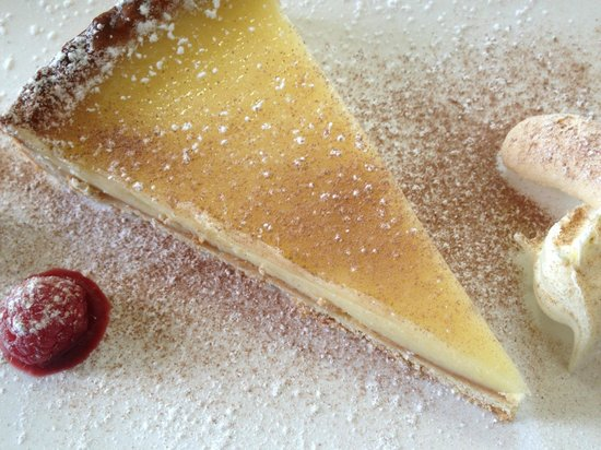 Elfordleigh Hotel: Lemon tart
