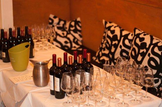 Arcadia: Wine Tasting