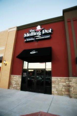 Melting Pot-Arlington TX: Front Facade in Arlington Highlands Shopping Center