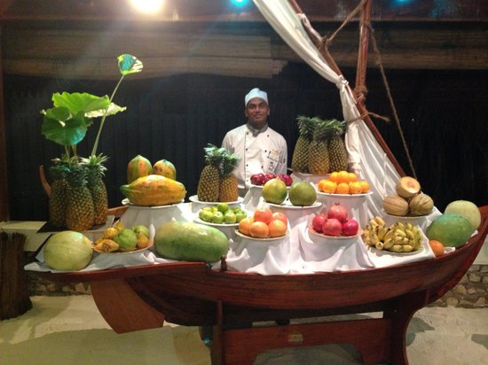 Kuredu Island Resort & Spa: Les fruits