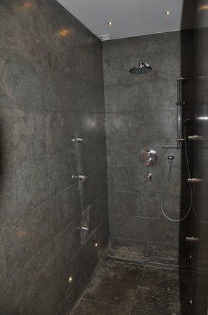 Les Jardins de Lois: Huge shower
