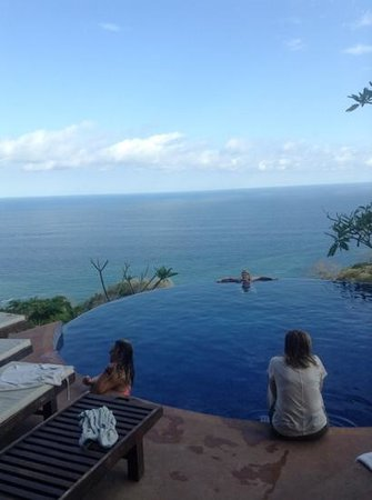 Anamaya Resort & Retreat Center: the infinity pool with its breath-taking view