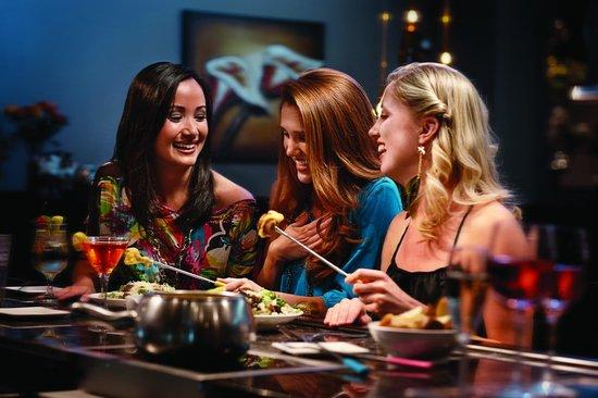Melting Pot-Arlington TX: Ladies' Night Out: Sip, Dip, & Shop!