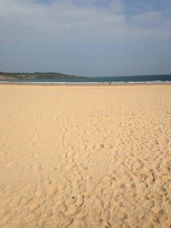 Playa Primera de El Sardinero: playa