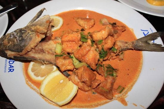 Al Bandar Fish Market: not hamour thou, but delicious in thai curry