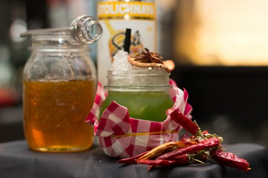 Bitter Bar: My Lolita drink alla rucola miele e peperoncino