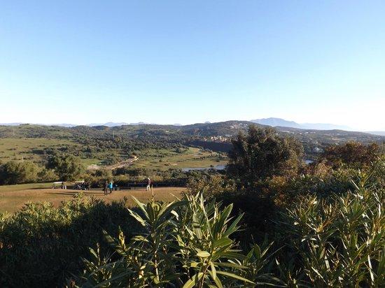 Almenara Golf Club: Looking over Los Alcornoques