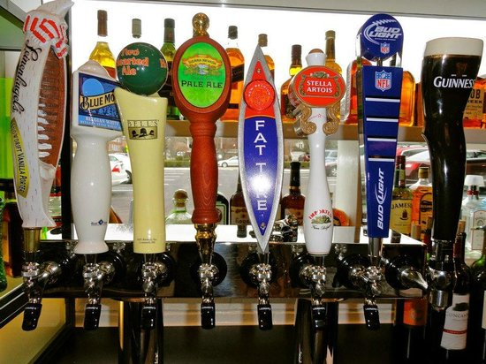 Garage Grill & Fuel Bar : What's on tap