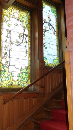 The Overlook Mansion: Stairway to 2nd floor