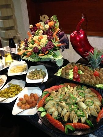 Premier Romance Boutique Hotel and Spa: Buffet in main restaurant