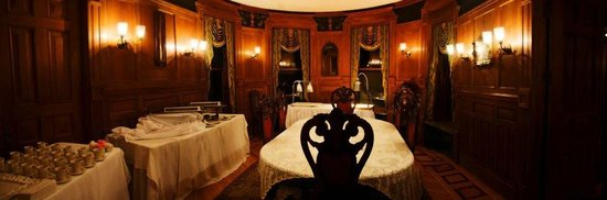 The Overlook Mansion: Formal dining room