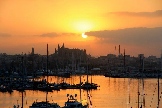 Gran Melia Victoria: sunrise :-)