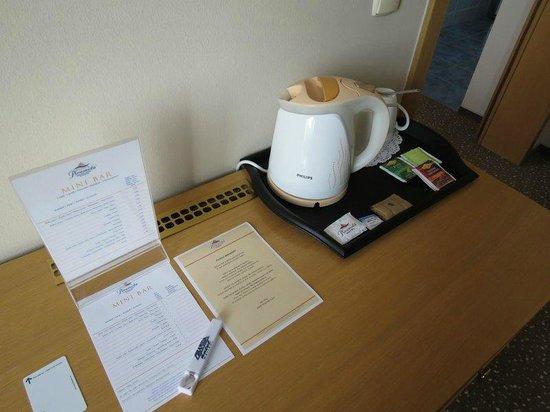BEST WESTERN PLUS Hotel Piramida: Tea time in living room :-)
