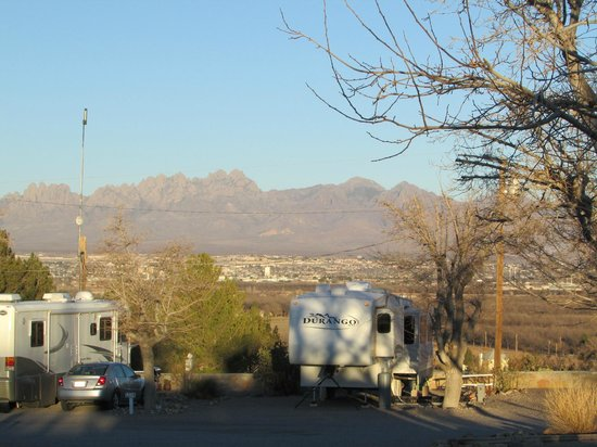 Las Cruces KOA: Great Views