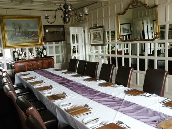 Simonstone Hall Country House Hotel: Dining room for private parties