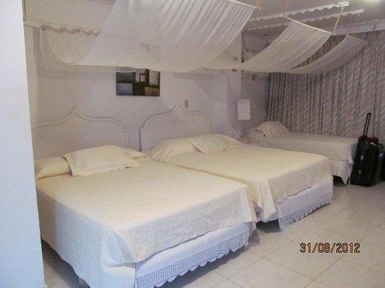 San Andres Noblehouse Hotel: Parte del Dormitorio
