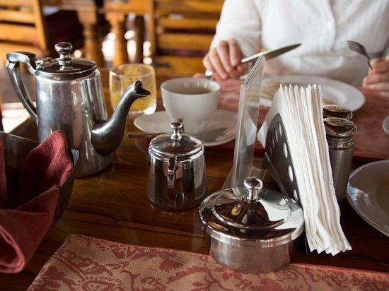 شانتي هوم: Morning Tea