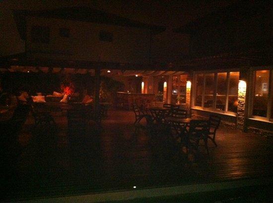 Villa Rasa: A noite um clima romantico :)