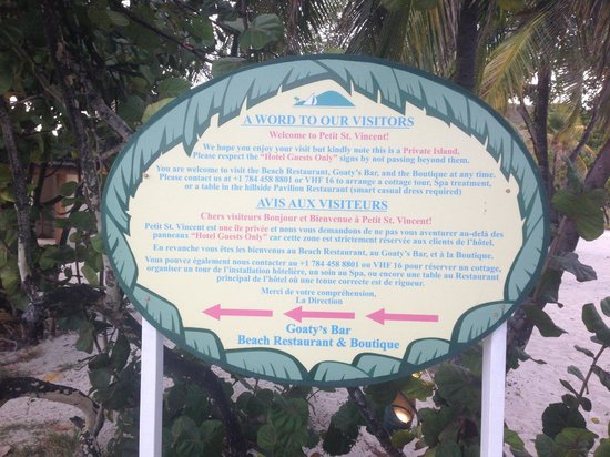 Petit St. Vincent Resort: story of the island