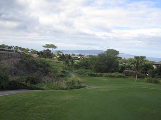 Wailea Old Blue Course: At every turn something beautiful is there to enjoy