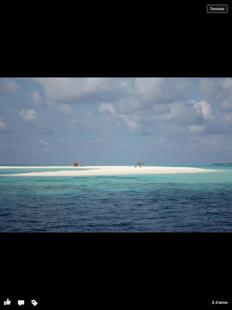 Kuredu Island Resort & Spa: Île déserte