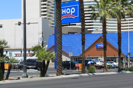 Well it's official, after decades of IHOP they're changing the name to IHOB (Burgers)! The attached images show the new burger menu and prices. Still very reasonably priced. This particular location is on the south end of Las Vegas Blvd. away from the strip. It's usually clean with clean restrooms.3/5().
