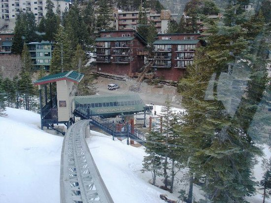 The Ridge Tahoe: monorail to heavenly lift