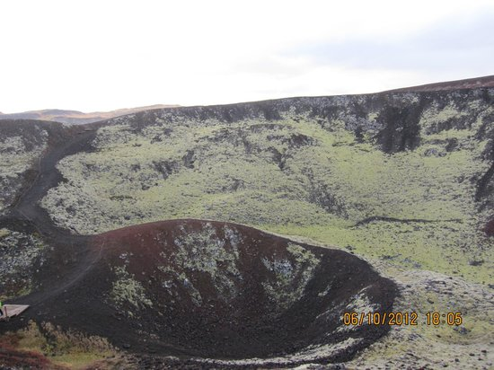 Bifrost, Iceland: The Grabrok crater