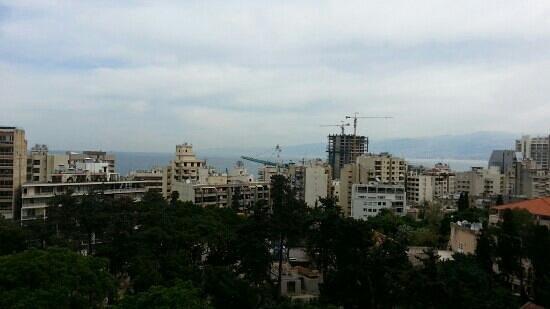 Gefinor Rotana Hotel: balcony view