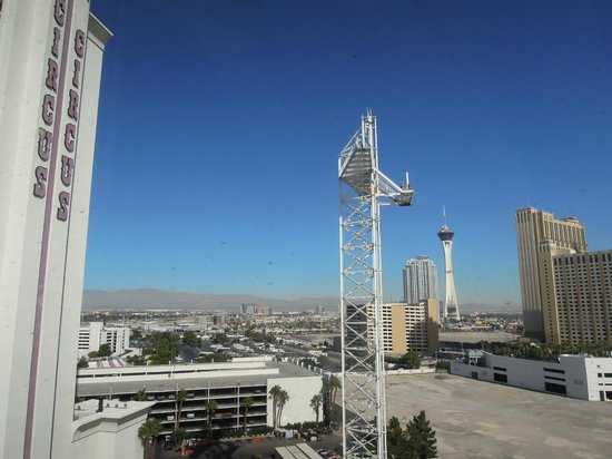Circus Circus Hotel & Casino Las Vegas: View from my room