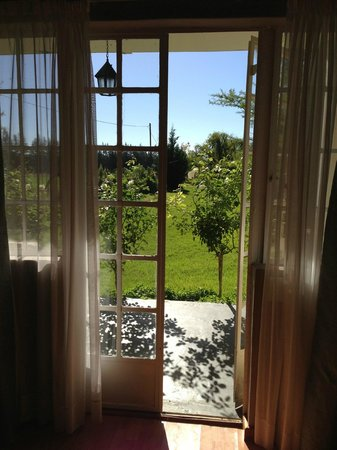 Hopefield Country House: View from our room (#7)