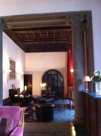 Torre Guelfa Hotel: La sala