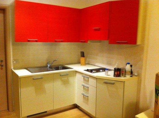 Residence Cristine: La cocina/The kitchen