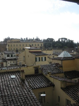 Hotel Palazzo Guadagni: View from our Room