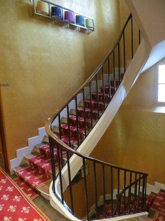 Hotel Saint Paul Rive Gauche: stairway