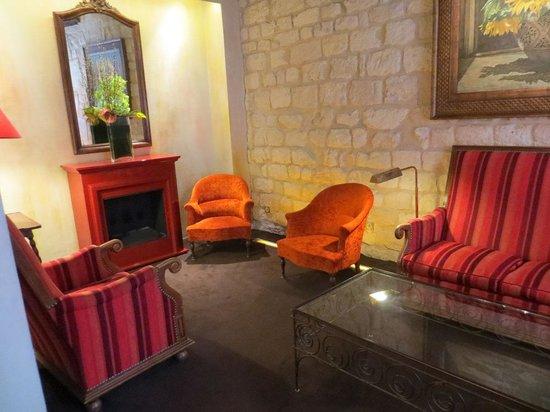 Hotel Saint Paul Rive Gauche: lobby area