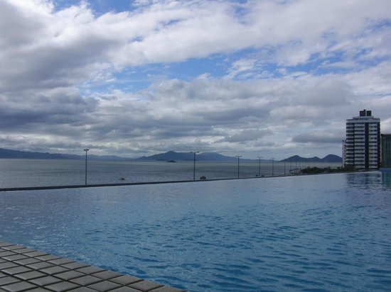 Majestic Palace Hotel Florianopolis: the pool was closed