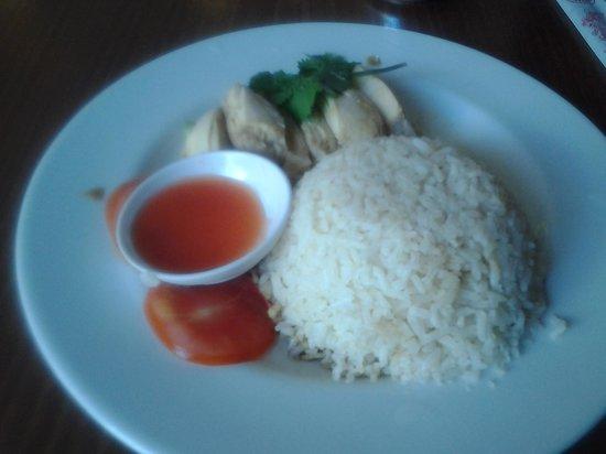 Rumours Kopitiam: Hainanese Chicken Rice