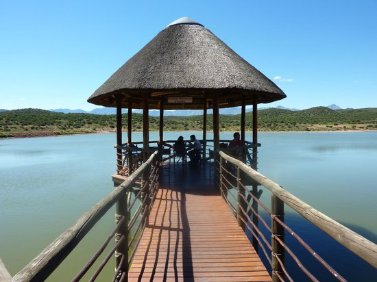 Buffelsdrift Game Lodge: The Wedding Chappel at the restaurant