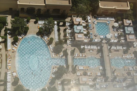 Wynn Las Vegas: view frm room